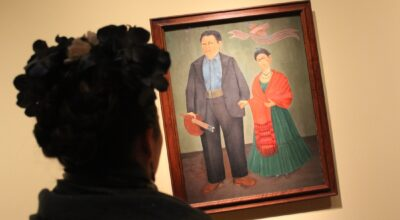 Diego and Frida painting